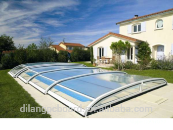 Polycarbonate New Hard Swimming Pool Cover