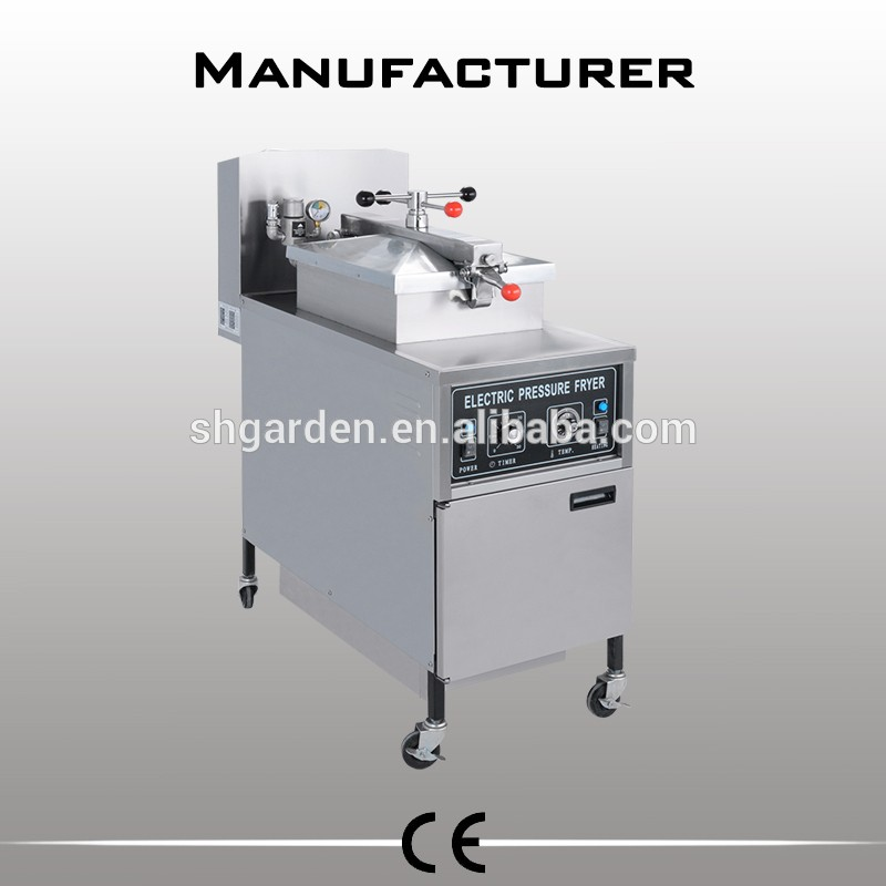 Kfc machine / broasted electric pressure fryer / deep fried chicken machine(manufacturer)