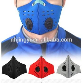 防空气污染面罩PM 2.5防尘氯丁运动摩托车摩托车面罩