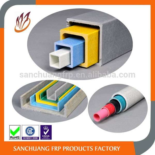 High Quality FRP Pultrusion Fiberglass Products