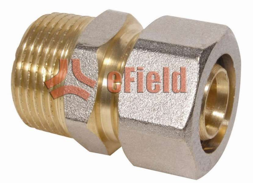 pex al pex coupling pipe brass fittings