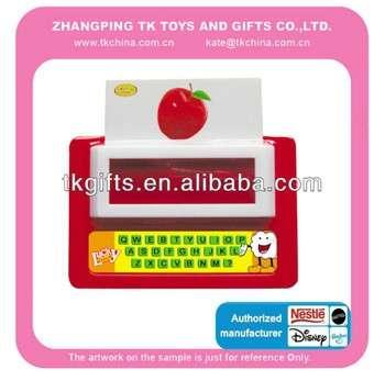 教育玩具打字机,数学学习玩具,儿童计数棒