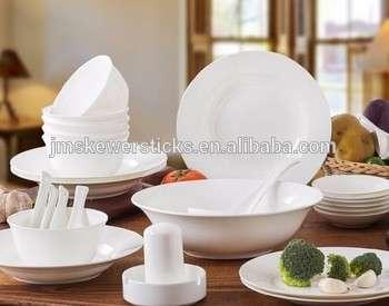 宾馆用瓷盘子/耐用的白色陶瓷餐具/批发餐具盘肉