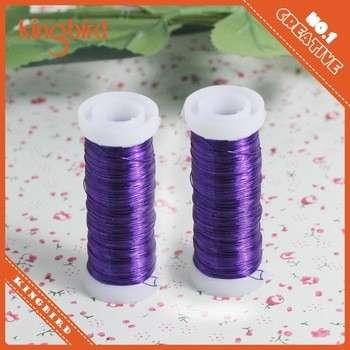 编织用紫外镀铜金属丝