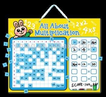 e1015 2014热全新儿童婴儿和儿童学习数学教育乘法板玩具磁