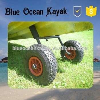 蓝色海洋2015新设计H型皮艇拖车/稳定皮艇拖车/耐久皮艇拖车