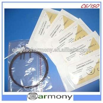 医用铬制肠线缝合制造商可吸收缝线针好价格l01098