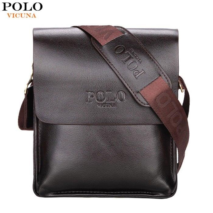 a79790ef5e VICUNA POLO 2017 Trending Products PU Leather Men Bag Casual Business  Messenger Bag Fashion Man Crossbody Bag