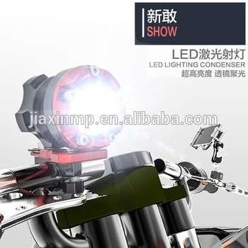 数控铝摩托车配件摩托车照明LED圆形聚光LED辅助灯\后工作灯探照灯