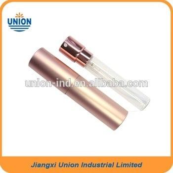 香水10ml玻璃金属,8ml捻芯铝香水喷雾瓶