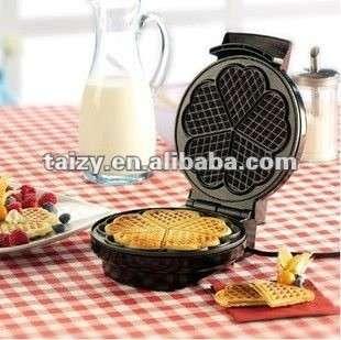 double flat waffle pancake maker