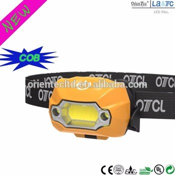 OT-H803C-2 3W IP54 COB led headlamp
