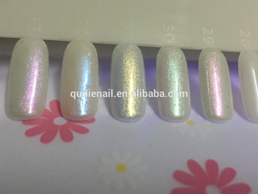 Mermaid Nail Glitter Powder Holo Nail Art Glitter