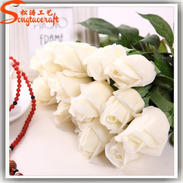 Wholesale Hot Sale Fashion Wedding Decoration Artificial Flower Bonquet Artificial Flower Wreath Rose Flower For Wedding