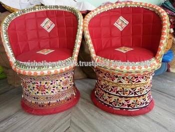 手工制作的老式传统~王公椅、沙发、Poufs