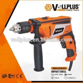 vollplus vpid1030 650 750 810w 13mm冲击电钻变速电动工具电锤钻