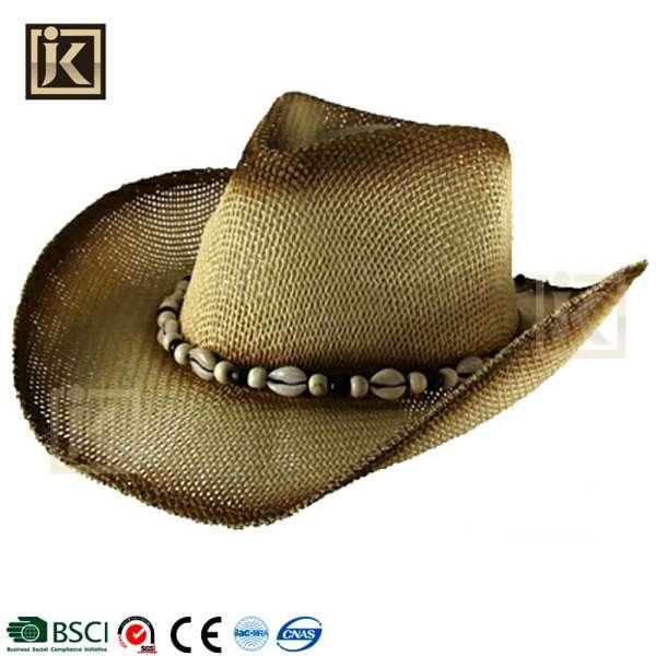737dae340d5b6 JIAKIJIAYI 2017 China Foam Stetson Cowboy Hat New Style Western Beach Cowboy  Hat Wholesale Promotion Straw ...