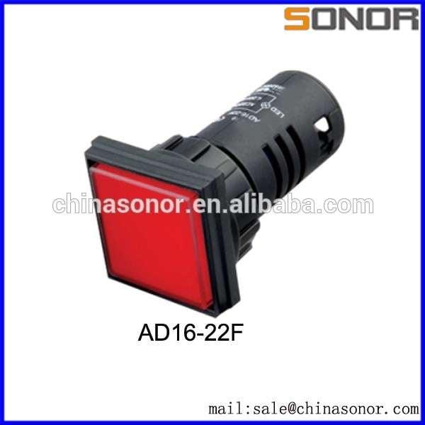 超亮LED ad16-22f / 22mm管孔直径的LED指示灯