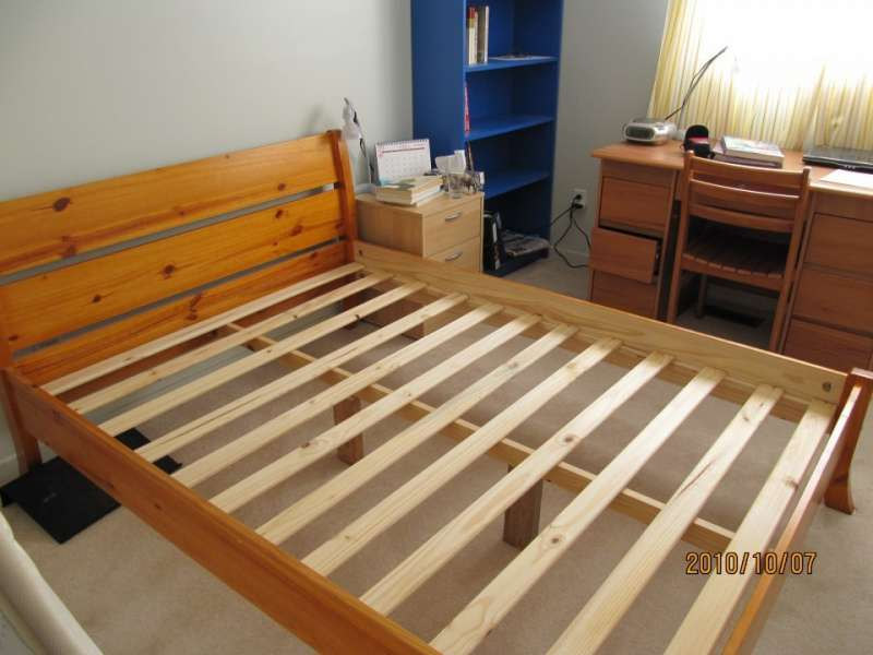 Furniture Parts LVL Poplar Bed Frames With Cheap Wholesale Price