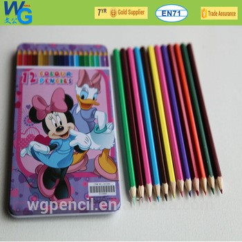 促销铅笔/彩色铅笔12件作为一套