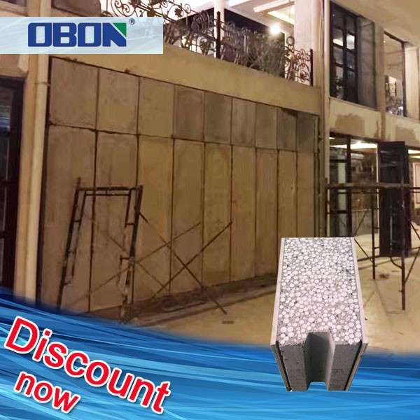 OBON Manufacturer Cement Concrete Eps Foam Board For Wall