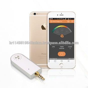 聪明的盖革亲sgp-001核辐射探测器的盖革计数器便携式辐射剂量计的免费应用程序的安卓iOS