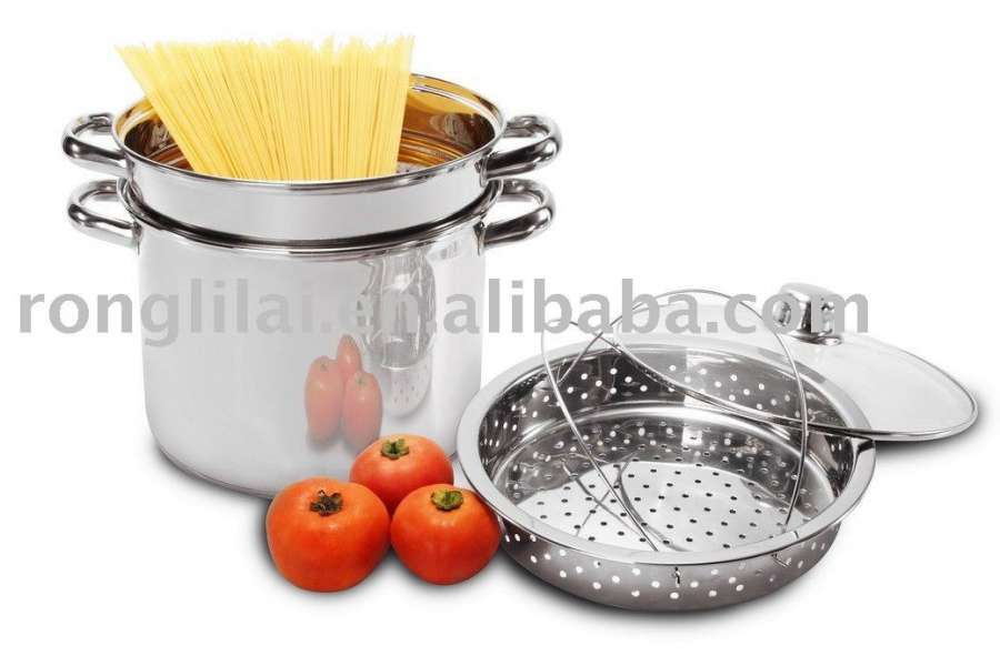 不锈钢面食锅炊具/ Spaghetti Pot