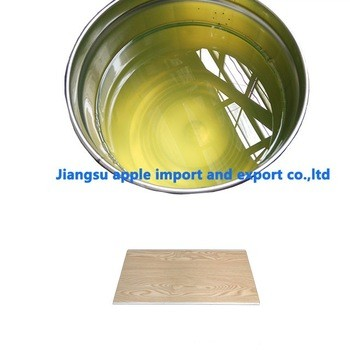 良好的匀染性紫外线涂层液体/高光泽UV涂层PVC大理石板材
