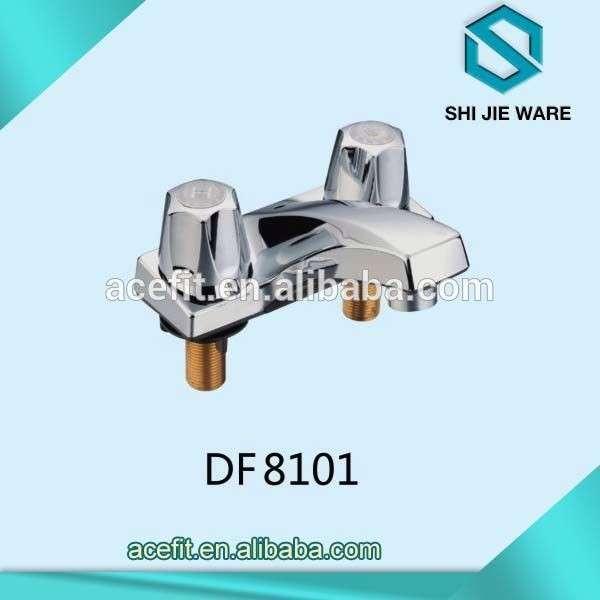 High Quality Plastic Bathroom Faucet 2 Hole Basin Mixer Taps