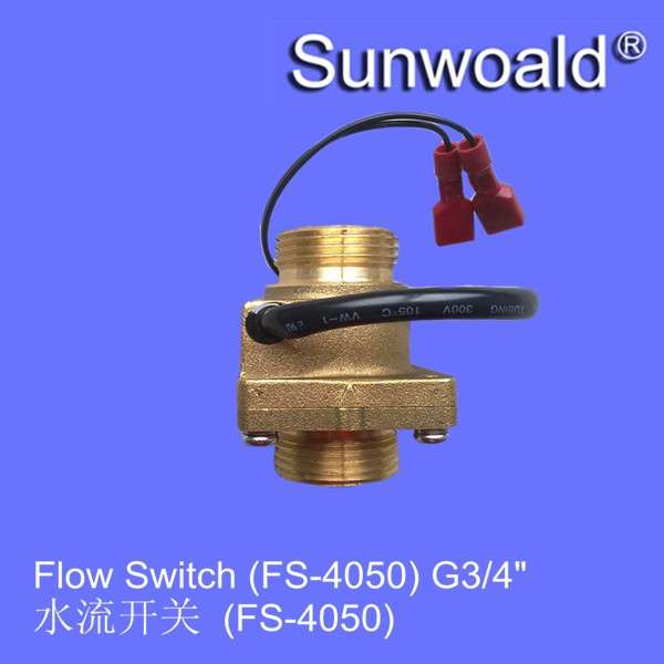 "DN20 G3 / 4 "";热水器磁化水铜流量开关"