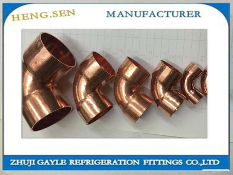 "1/2"" Copper 90* ELBOW Plumbing fitting bag of 10 pcs"