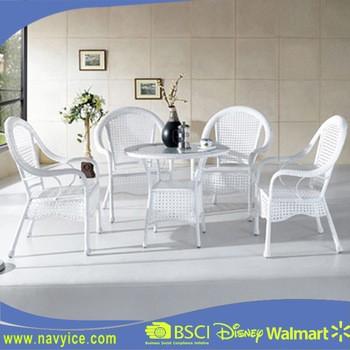 现代室外后院藤条藤条庭院餐具家具家具花园藤餐桌椅家具