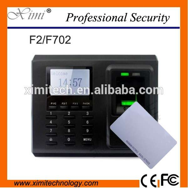 ZK F2 F702 fingerprint access control TCP/IP door access control with card reader linux system fingerprint time attendance