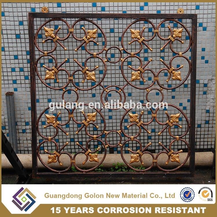 Latest Modern Simple Steel Aluminum Iron Window Grill Design