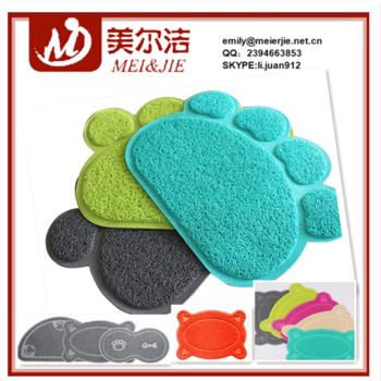 高密度100%回收的高吸水性聚酯产品猫砂垫