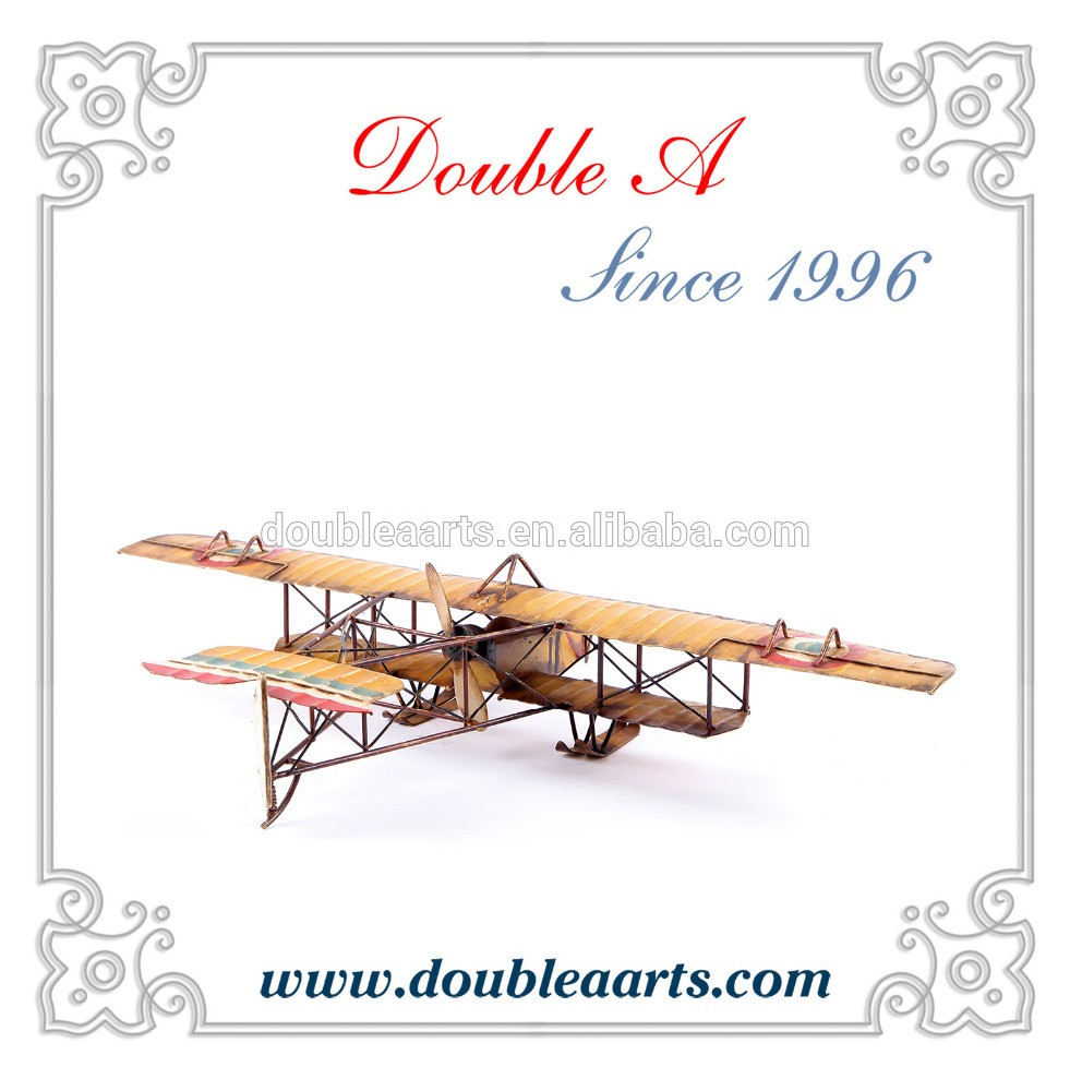 Wholesale Creative Design Metal Airplane Model Antique