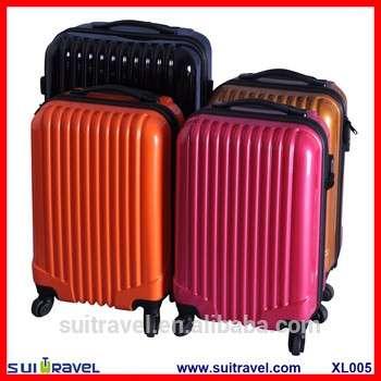 中国工厂的硬壳PC ABS硬壳行李