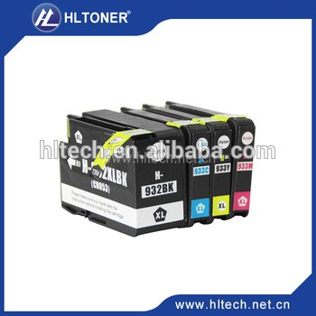 对于hp932xl 933xl HP Officejet的6100 / 6600 / 6700 / 7110 / 7610 / 7612 / 7510 / 7512墨盒兼容打印机墨盒