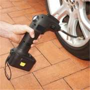 Handheld automatic portable electric cordless air compressor for car tyre