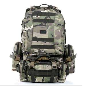 2017 new products military green camouflage mountaineering outdoor backpack large capacity mountaineering bag