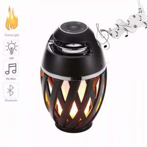 LED Flame Dancing Wireless Speaker