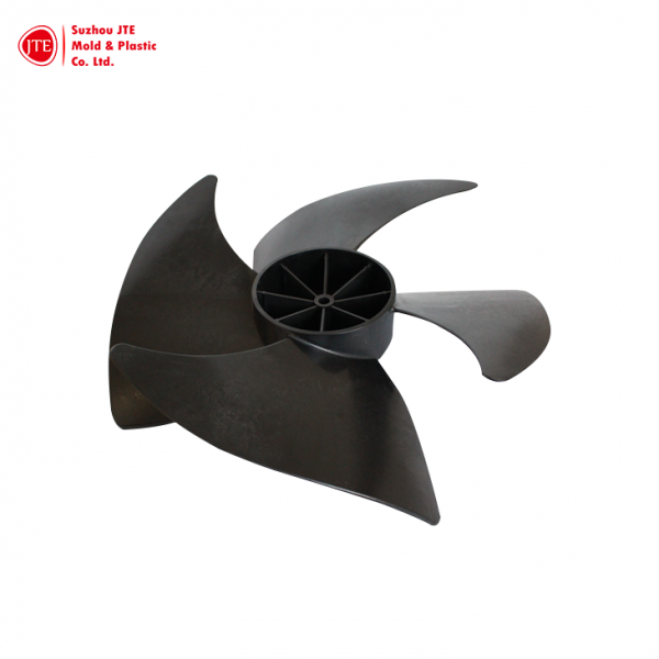 AC Fan Blade by Customized Plastic Injection Parts/Molding Parts