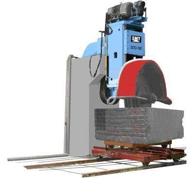 SDQ-160多刃石材切割机