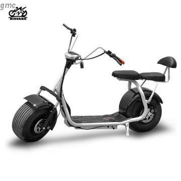 Cool Electric Scooter One Seat Smart Flat Tyre Adult E