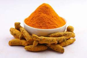 Turmeric extracted powder