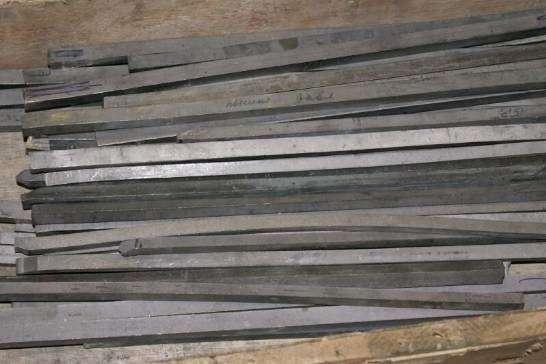Tungsten bars, sizes 11*11*460 mm