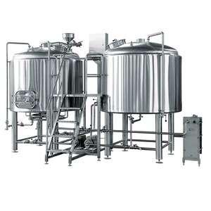 2-3桶工艺啤酒电酿系统