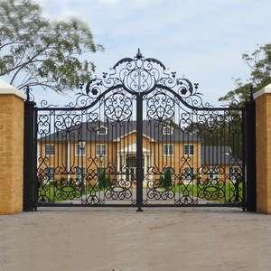 House Iron Gate Design Steel Sliding Gate Aluminum Fence Gate Designs