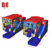 Custom Disney Inflatable Bounce House With Slide and Pool