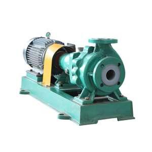 IHF PTFE TEFLON Lined Pump